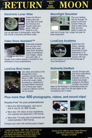 back cover of RttM CD-ROM 46K bytes